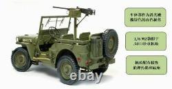 1/6 Dragon 75052 Monté Us Willis Jeep Truck Avec50 Calibre M2 Modèle De Pistolet Jouet