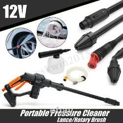 20v Nettoyeur De Pression Sans Fil Laveuse Gun Water Hose Nozzle Kit + Batterie/chargeur