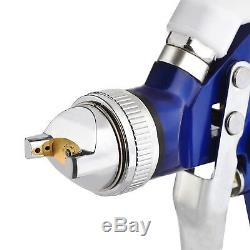 2 Pcs Hvlp Air Pistolets Kit Peinture Auto Primer Voiture Peinture Couche De Base Vernis Avec Etui
