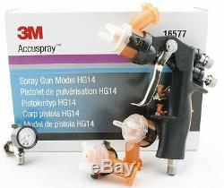 3m 16577 Accuspray Pistolet Modèle Kit Hg14