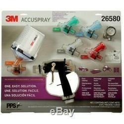 3m Accuspray One Spray Gun Kit Pps 2.0 Version Récents 26580 Auth Distributeur 3m