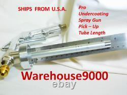 5 Gallon Pail Fluid Film Nas & Pro Spray Gun Kit Avec 100 Prises De Rouille Fabriqué Aux États-unis