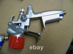 6pc SATA Adam2 Jet Hvlp Jeu De Pistolet De Peinture Boîte Numérique Jauge 160853 Pps Kit De Démarrage