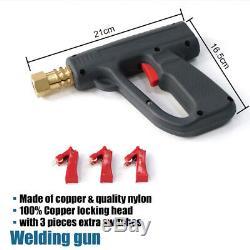 81pcs Goujon Soudeur Dent Puller Kit Pistolet De Soudage Par Points Interrupteur Tirant Des Outils De Réparation