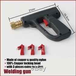 86 Pcs Voiture Soudeuse Pistolet De Soudage Outil Fix Pince Marteau Dent Puller Kit De Réparation