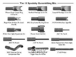 89pc Deluxe Gun Smithing Tools Kit, Noir - Jaune Professionnel Grade Torx Allen
