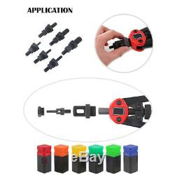 900pcs Rivet Nut Gun Kit Rivnut Outils De Réglage Nut Setter D'outils À Main Riveteuse