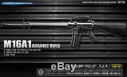 Académie M16a1 Fusil D'assaut Militaire Kit Pièces Modèle Airsoft Bb Gun 6mm # 17100