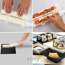 Bazooka Gun Rouleau Sushi Maker Sushezi Made Camp Kit Diy Facile Chef Outils Abs Nouveau