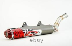 Big Gun Échappement Evo R Slip On Pipe Muffler - Jet Kit Honda Trx450r 2004-2005