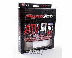 Big Gun Evo R Exhaust Pipe Muffler Slip On & Jet Kit Yamaha Raptor 350 2005-2013