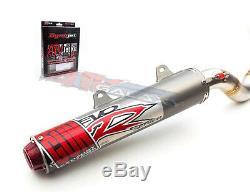 Big Gun Evo R Tuyau D'échappement Silencieux Glissement Et Jet Kit Yamaha Yfz 450 2006 2009