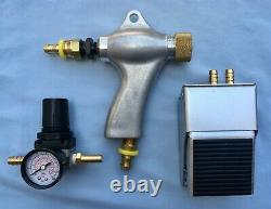 Blast Cabinet Upgrade Kit 4-a Harbor Freight Gun 3/32 Orifice+footvalve+air Reg