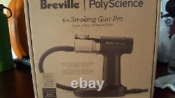 Breville Polyscience The Smoking Gun Pro Kit Food Fumer + Chips De Bois Nouveau