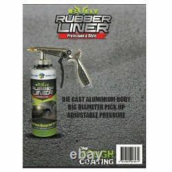 Bullyliner April Special Spray-on Truck Bed Liner 4 Litres Kit+gun-+livraison Gratuite