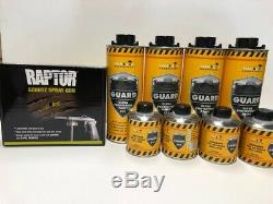 Camion Noir Doublure De Caisse 4 Litres Kit Avec Free Raptor Pistolet Made In Germany