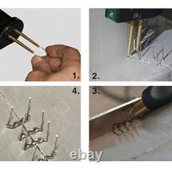 Car Bumper Repair Plastic Soudeur Kit Hot Stapler Plastic Welding Gun Machine