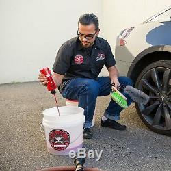 Car & Truck Wash Kit Couple Blaster Mousse Gun Bucket 16 Oz Entretien Des Produits Chimiques Guy