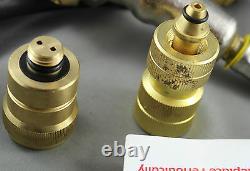 Caravan Lpg Gas Bottle Filler Gun & Hose Kit & Primus And Companion Adaptateurs