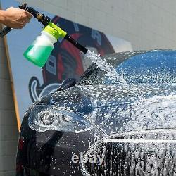 Chemical Guys Car Wash Kit 14 Pcs Torq Blaster Foam Gun & Buck / 5 Bouteilles 16oz