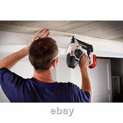 Clou Sans Fil Air Brunie Cloueuse Construction Tool Kit Chargeur De Batterie 1.5 Ah