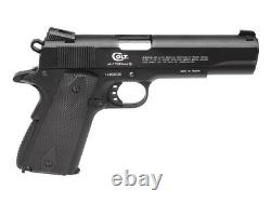 Colt Commander Bb Co2 Blowback Pistol Kit 0.177 Cal 18rd 0.12g Munitions Avec 5pk Co2