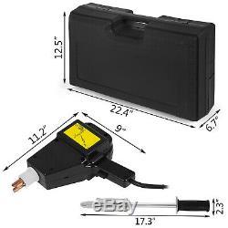 Complet Kit De Reparation Dent Body Body Pistolet De Soudeur Stud Électrique Avec Marteau Extracteur De 2lb