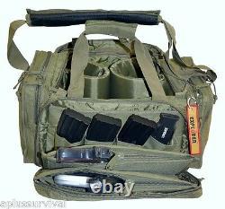 Coyote Brown Explorer Tactical Range Prêt Sac Pistolet De Survie Pistol Trousse D'urgence
