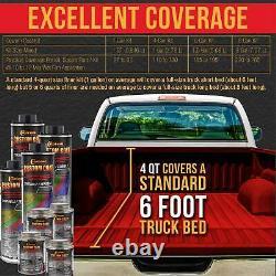 Custom Coat Hot Rod Red 2 Gal Urethane Spray-on Truck Bed Liner Kit With Spray Gun