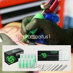 Débutant Kit De Tatouage 4 Top Machine Gun Grip Alimentation Aiguilles 40 Couleur Conseil D'encre