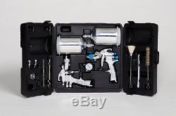 Devilbiss 802343 Starting Line Kit Peinture Et Apprêt Automatique Hvlp Pistolet Pulvérisateur