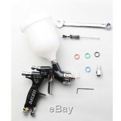 Devilbiss Pistolets À Peinture Air Pistolet Pulvérisateur Kit Gti Pro Te20 Bouchon Gravité Alimentation 1.3mm