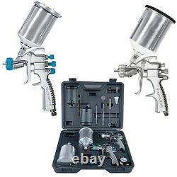 Devilbiss Startingline Hvlp Gravity Feed Auto Paint, Primer Spray Gun Kit 802343