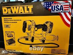 Dewalt 20v Variable Speed Max Lithium Ion Grease Gun Tool Kit Dcgg571m1