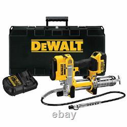 Dewalt Dcgg571m1 42 20v Variable Speed Max Lithium Ion Grease Gun Tool Kit