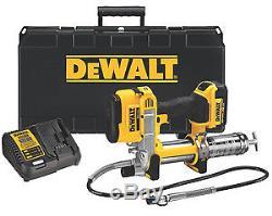 Dewalt Dcgg571m1 Kit Pistolet Graisseur Sans Fil 20 Volts Batterie Simple