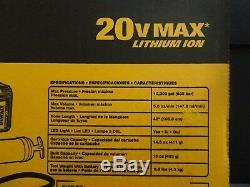 Dewalt Dcgg571m1 Kit Pistolet Graisseur Sans Fil Lithium-ion 20 V 20 Volts Max 4,0 Ah Sans Fil Nouveau