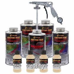 Doublure De Caisse Desert Tan 0,875 Gallon Uréthane Pulvérisation Sur Camion Kit & Pistolet