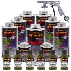 Doublure De Lit Et Pistolet Pulvérisateur D'uréthane, 1,31 Gallons, Vert Olive