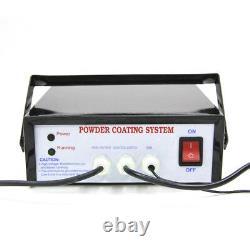 Electric Powder Coating System, Auto Body Portable Coat Machine Paint Gun Kit États-unis