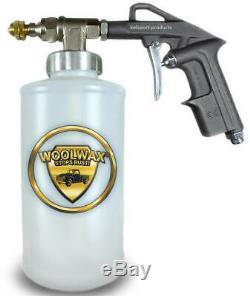 Film Fluide Et 1 Gallon Cire De Laine Kit Withpro Gun Undercoat & (2) Baguettes Magiques. Couleur Paille