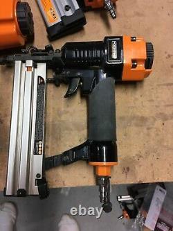 Freeman Complete Nail Gun Combo Kit Ensemble De 8 Nailers Ergonomiques Et Light Nailers Et Stape