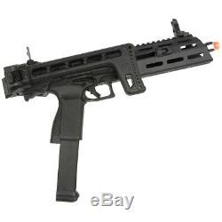 G & G Full Metal Smc-9 Gbb M-lok Airsoft Pdw Pistolet Carabine Kit Smc-9mm-bbb-ecm