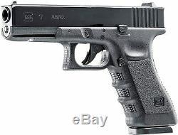 Glock 17 Gen3 Noir Pistolet À Air Comprimé Pistolet À Air Comprimé Avec Des Réservoirs De Co2 Et 1500ct Acier Kit Bbs