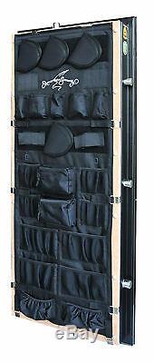 Gun American Security Safe Vault Panneau De Porte Organisateur Pistolet Kit Modèle 19