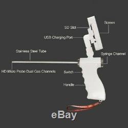 Gun Dog Visuelle Insémination Artificielle Kit Appareil Photo 5 Mp 360 ° Blanc Réglable