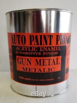 Gun Metal Met. Trousse De Peinture Pour Carrosserie Automobile En Une Seule Étape, Émail Acrylique, Restauration