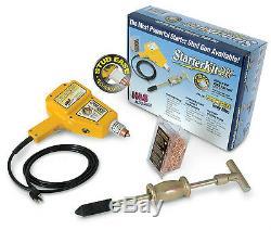 H & S 4550 Uni-spotter Stud Pin Soudeur Gun Starter Kit Plus-dent Extracteur Remover
