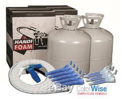 Handi-mousse 600bf Spray Mousse Kit, Réservoir À Cellules Fermées Seulement No Gun / Tuyau Inclus