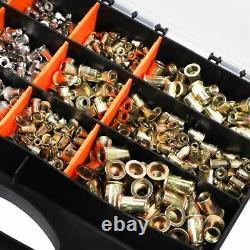 Haut De Gamme Automatique Rivet Tool Set Riveter Gun Avec 1450 Rivet Nut Blind Rivet Gun